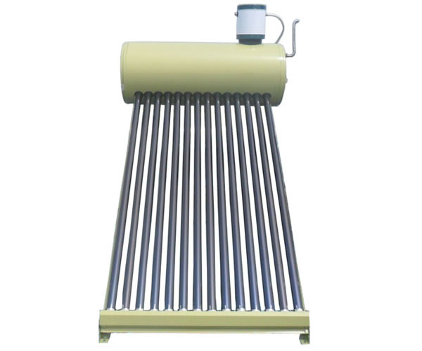 Solar water heater auto-filling